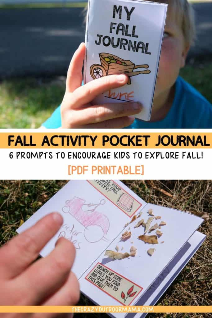 fall printables for kids outdoor fall journal printable