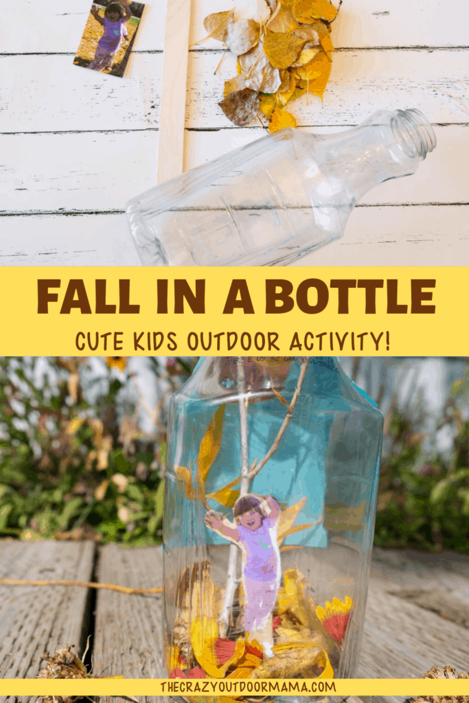 cute fall activity with leaves craft for kids