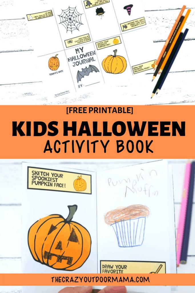 halloween printable activity idea for kids