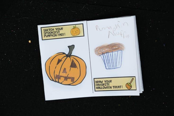 Kids Halloween Activity Book Free Printable