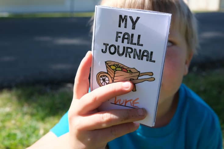Fall Activity Journal For Kids