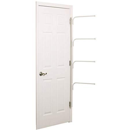 Hinge It Clutterbuster Four Bar Behind the Door Hanging Valet