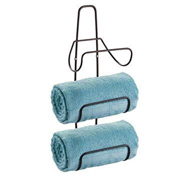 Wall Mount 3 Level Bathroom Towel Rack Holder