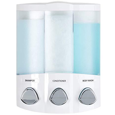 3-Chamber Soap and Shower Dispenser