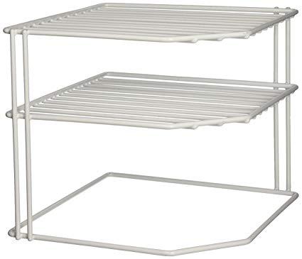 Corner Helper Shelf, White,