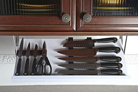 Under Cabinet Knife Block