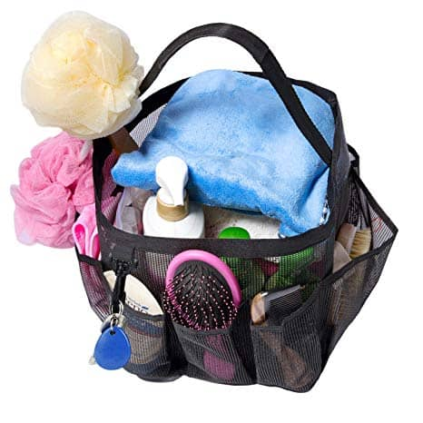 Mesh Shower Caddy, Quick Dry Shower Tote Bag