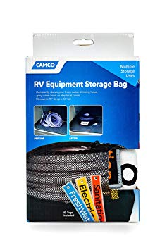 Camco RV Equipment Storage Utility Bag with Identification Tags