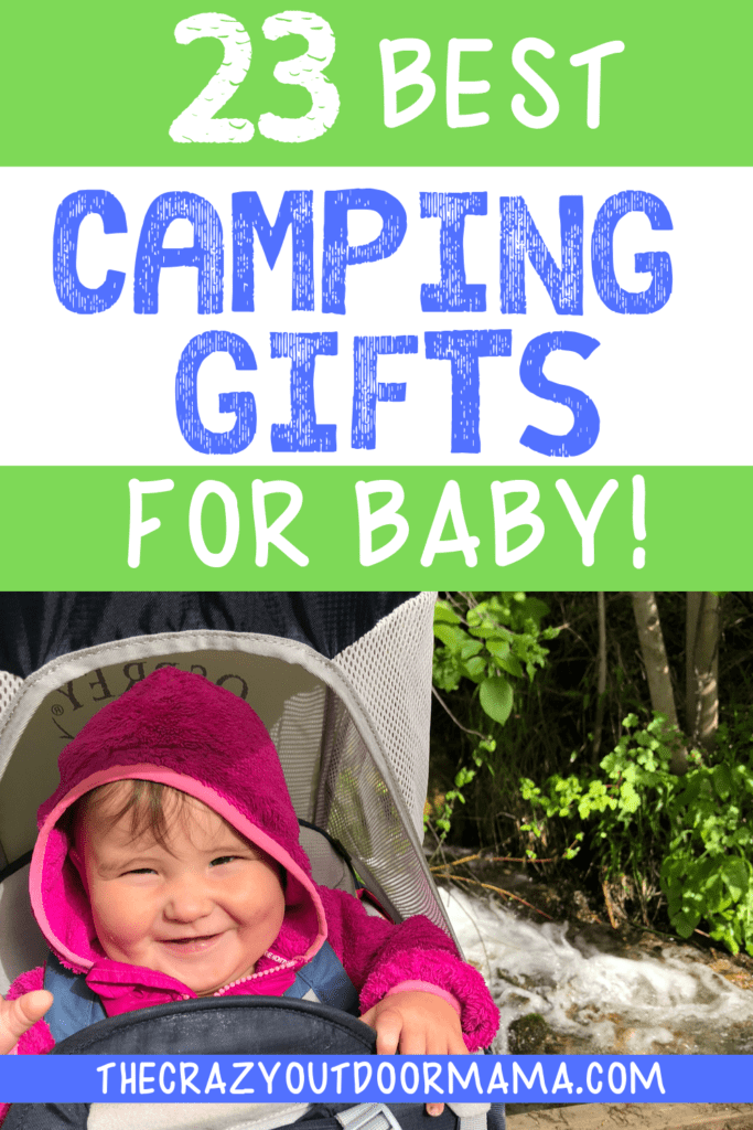CAMPING GIFT IDEAS FOR A BABY