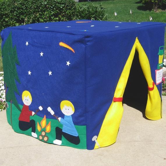 Camp Site Card Table Playhouse