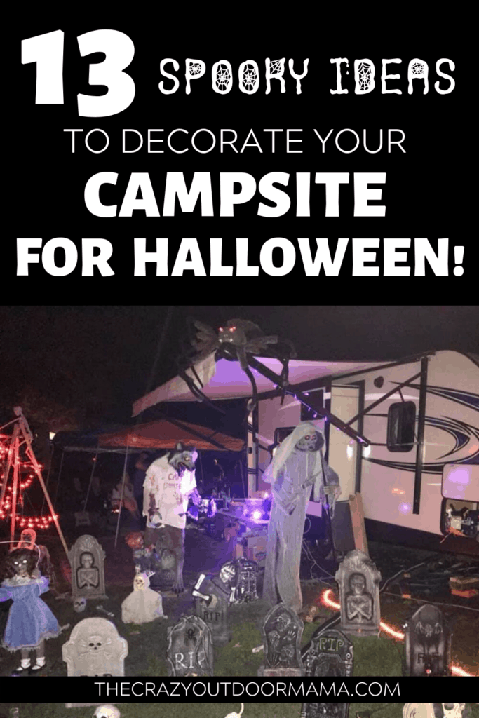 camping halloween ideas