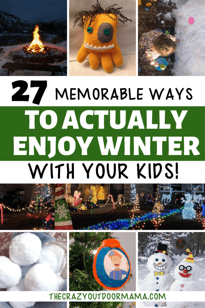 what to do with kids during winter break
