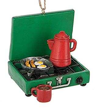 Camp Stove Ornament