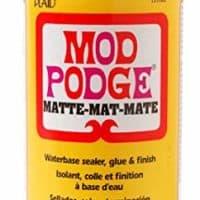 Mod Podge Waterbase Sealer, Glue and Finish (16-Ounce), CS11302 Matte Finish (Single pack)