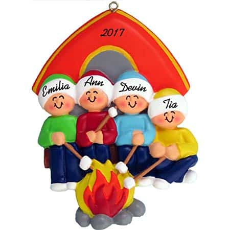 Personalized Campfire Family!