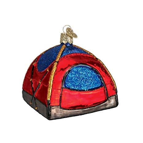 Old World Christmas Ornament - Glass Blown Tent