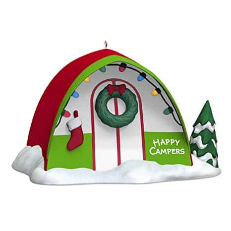 Hallmark Happy Campers Tent Ornament