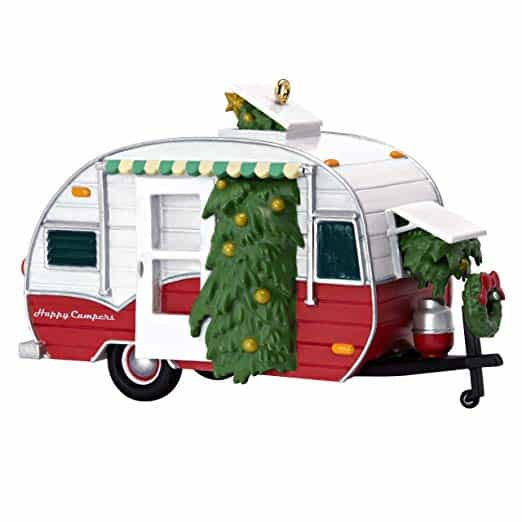 Hallmark Keepsake Christmas 2019  Travel Trailer Ornament