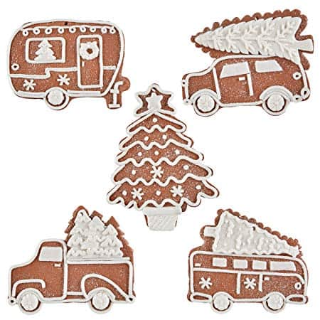 Holiday Roadtrip Theme Gingerbread Ornaments Bundley