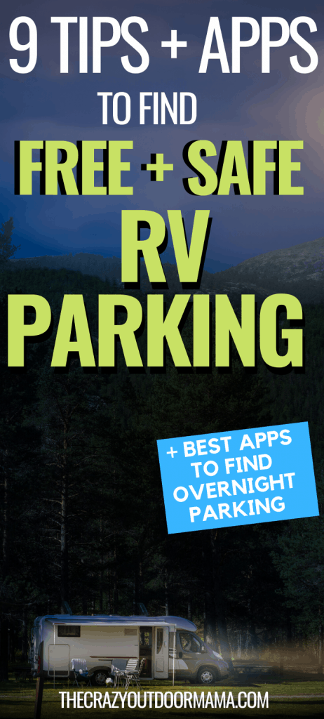 RV PARKING OVERNIGHT