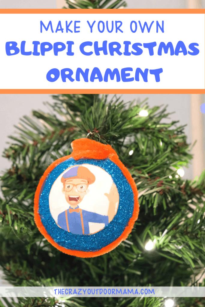 BLIPPI CHRISTMAS ORNAMENT