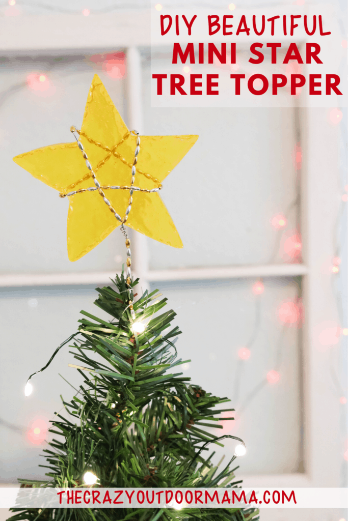 HOW TO MAKE A MELTED BEAD MIN STAR TREE TOPPER