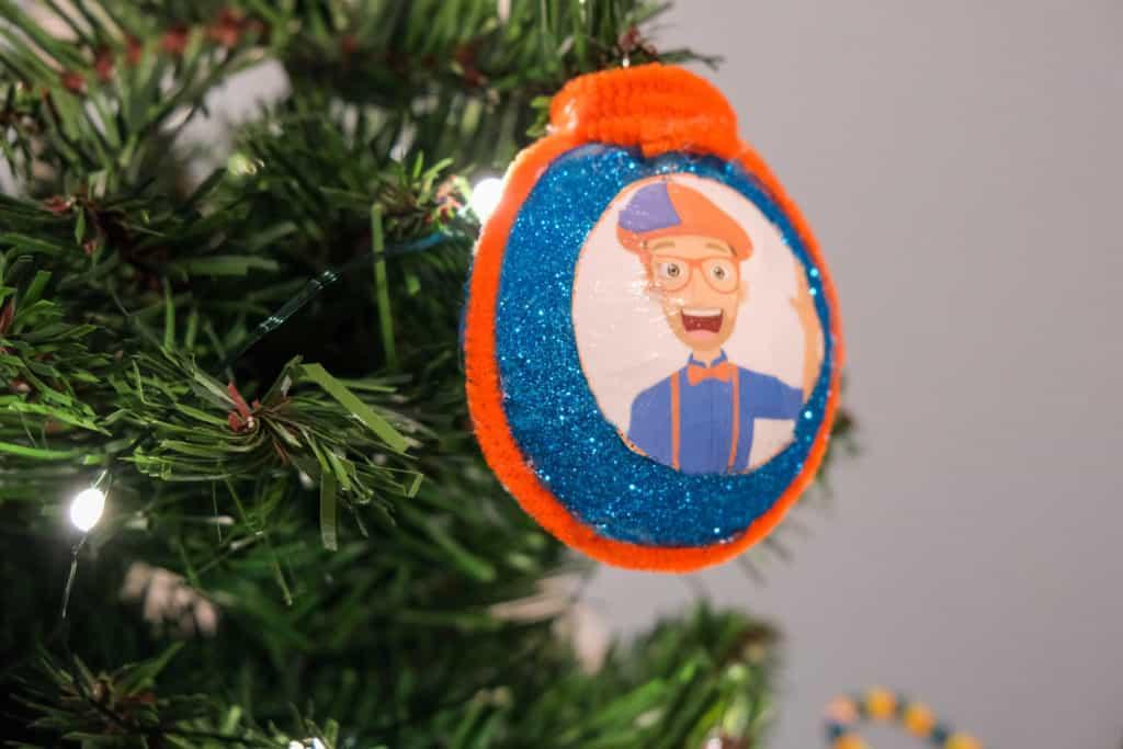 blippi christmas ornament idea
