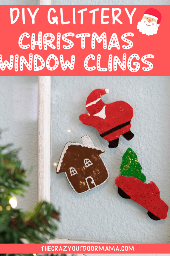 HOW TO MAKE WINDOW CLINGS AT HOME
