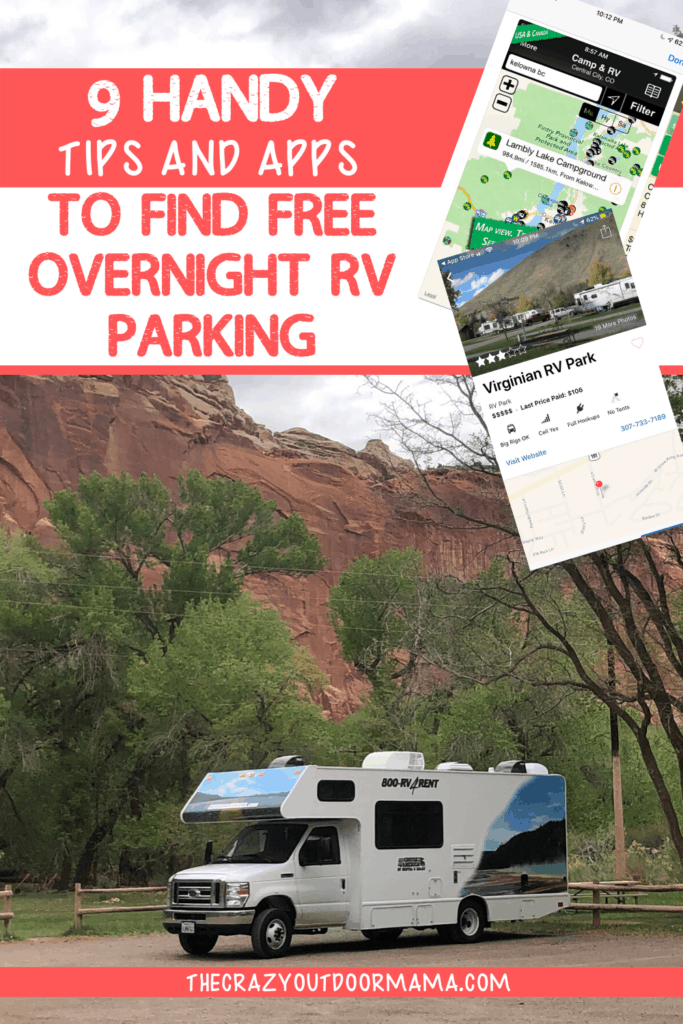 HOW TO FIND FREE OVERNIGHT PARKING