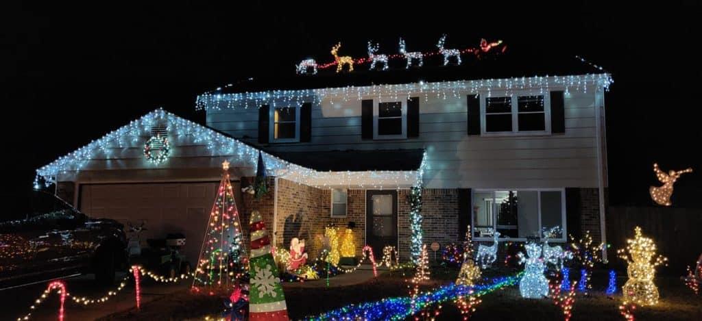 do a light tour in your neighborhood