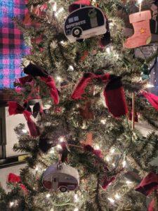 up close of xmas tree
