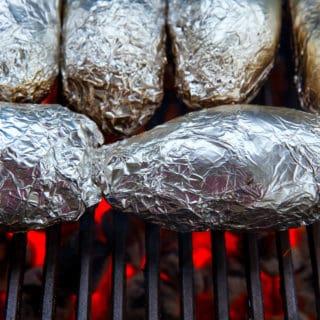 foil pack potato meal