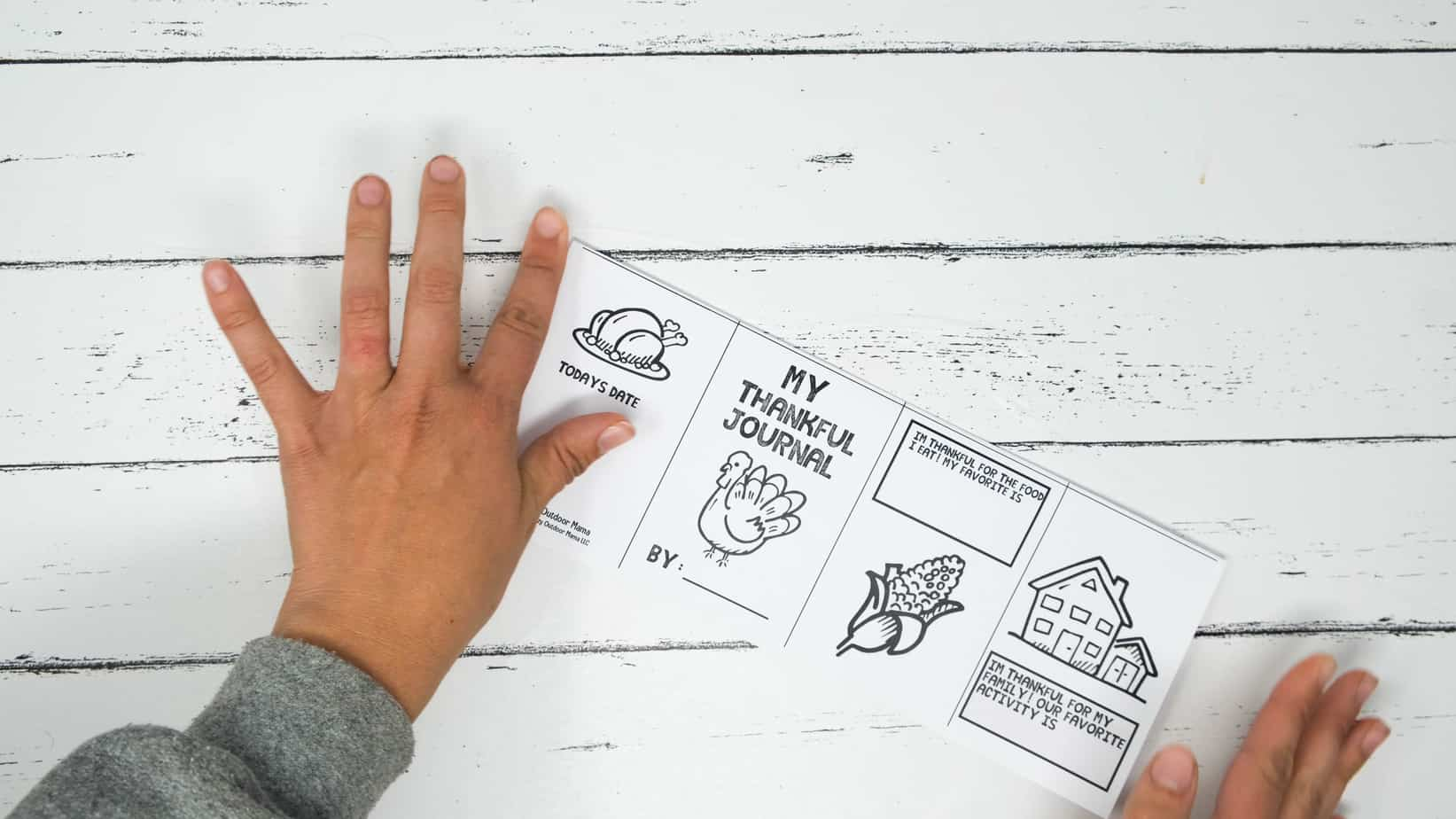 thanksgiving printable activity