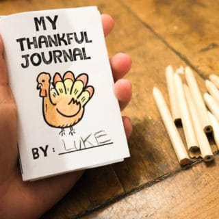 printable thankful journal for kids free