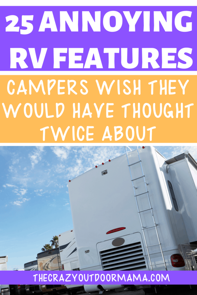25 RV BUYING TIPS AND BAD FEATURES