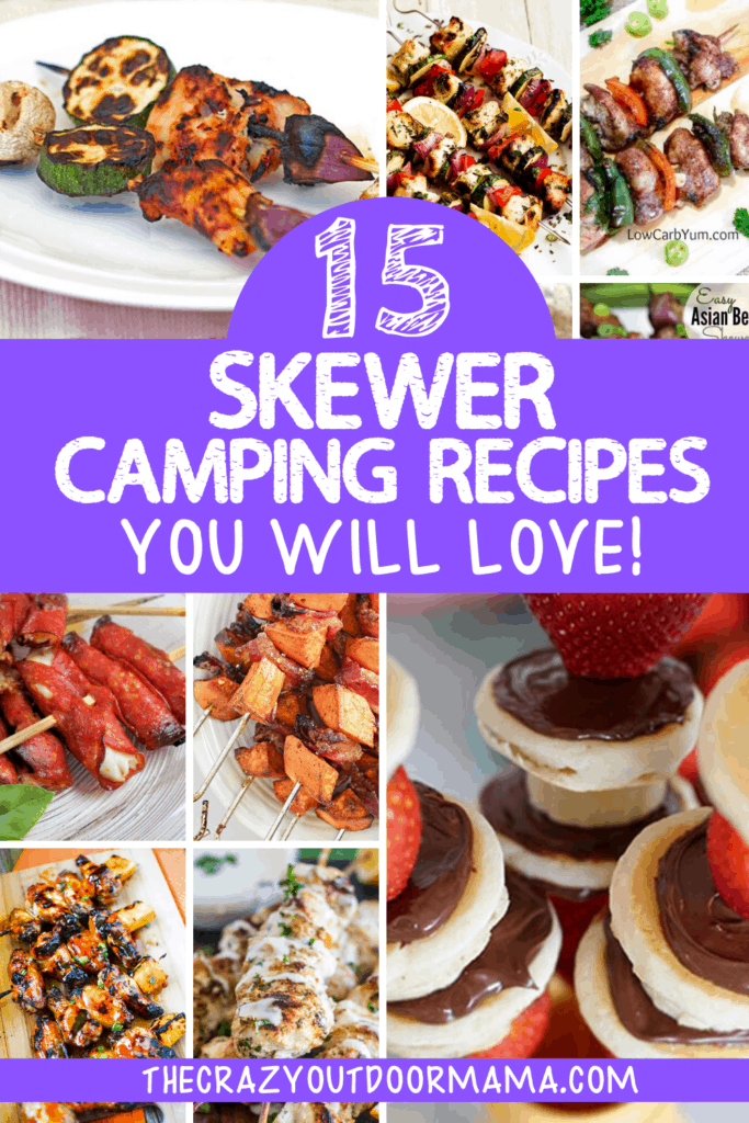 CAMPING KABOB IDEAS