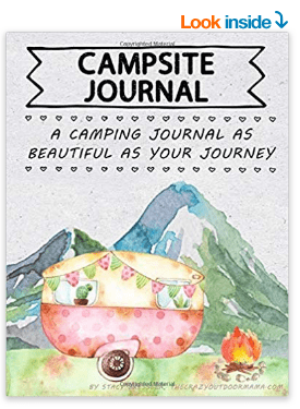 camping journal gift