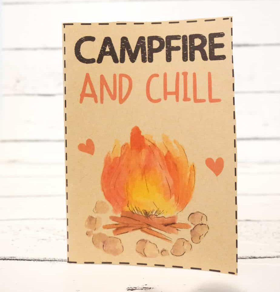 9 Most Romantic Camping Gifts + 19 FREE Camping Valentine ...