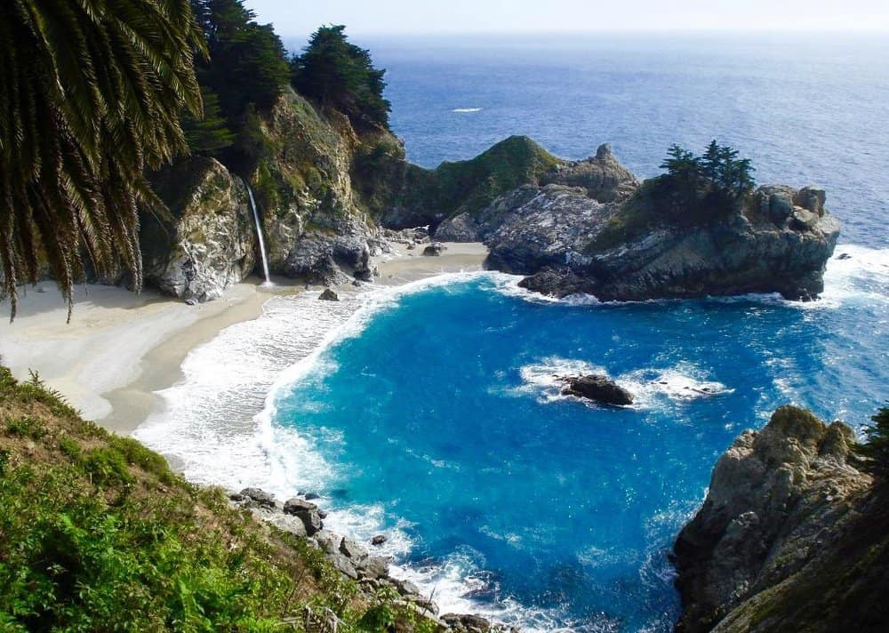 ocean views in pfeiffer state park
