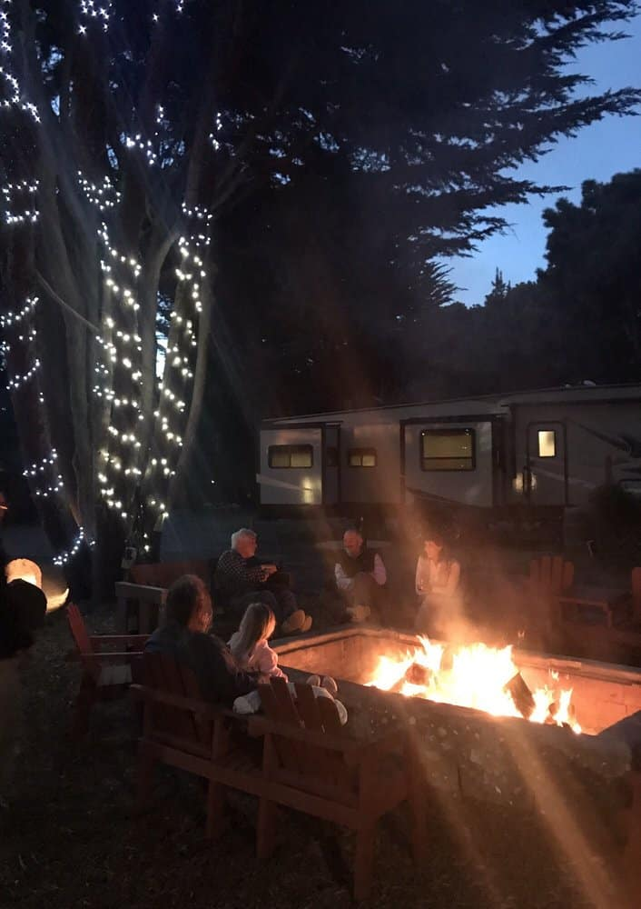 manchester beach KOA california camping review