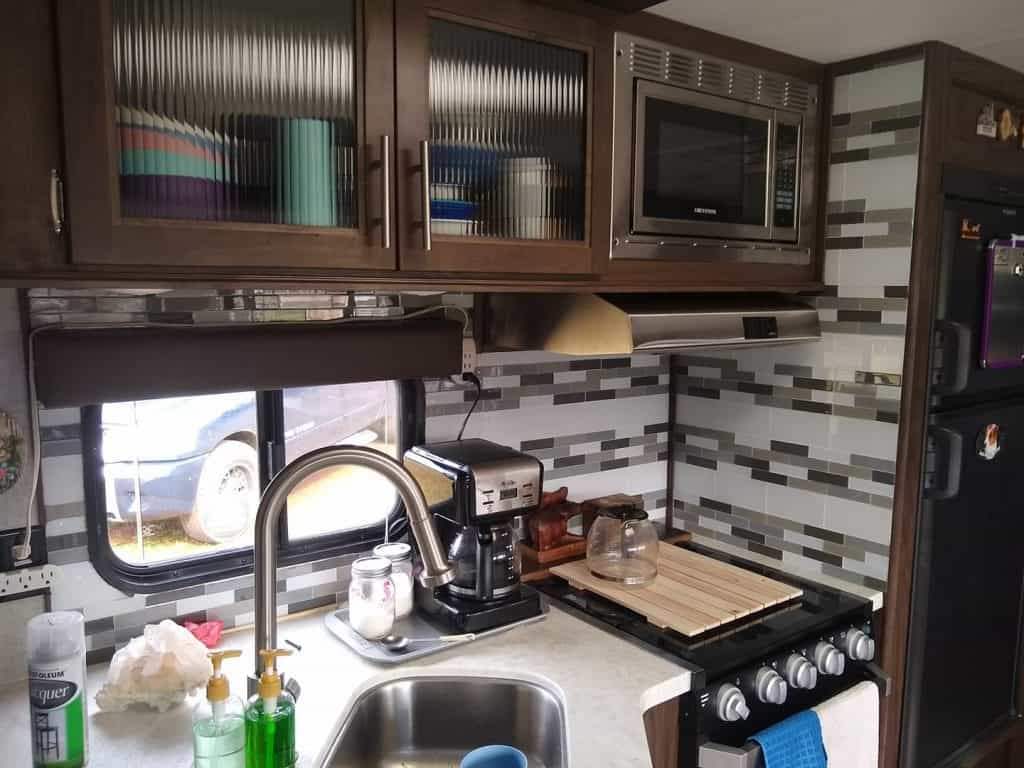 camper backsplash idea