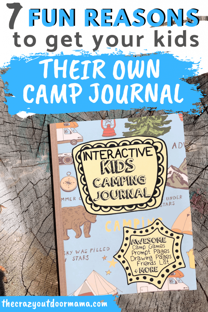 camping journal for kids
