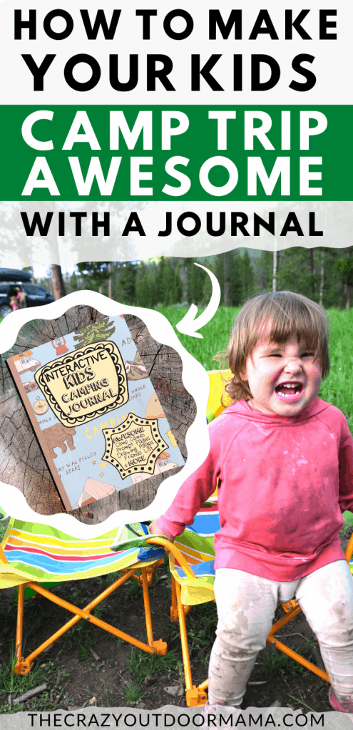 KIDS CAMPING ACTIVITY JOURNAL