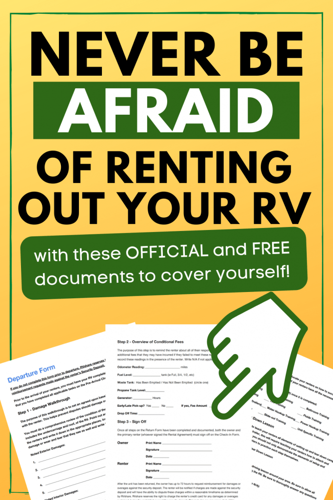 how to rent out rv reviews