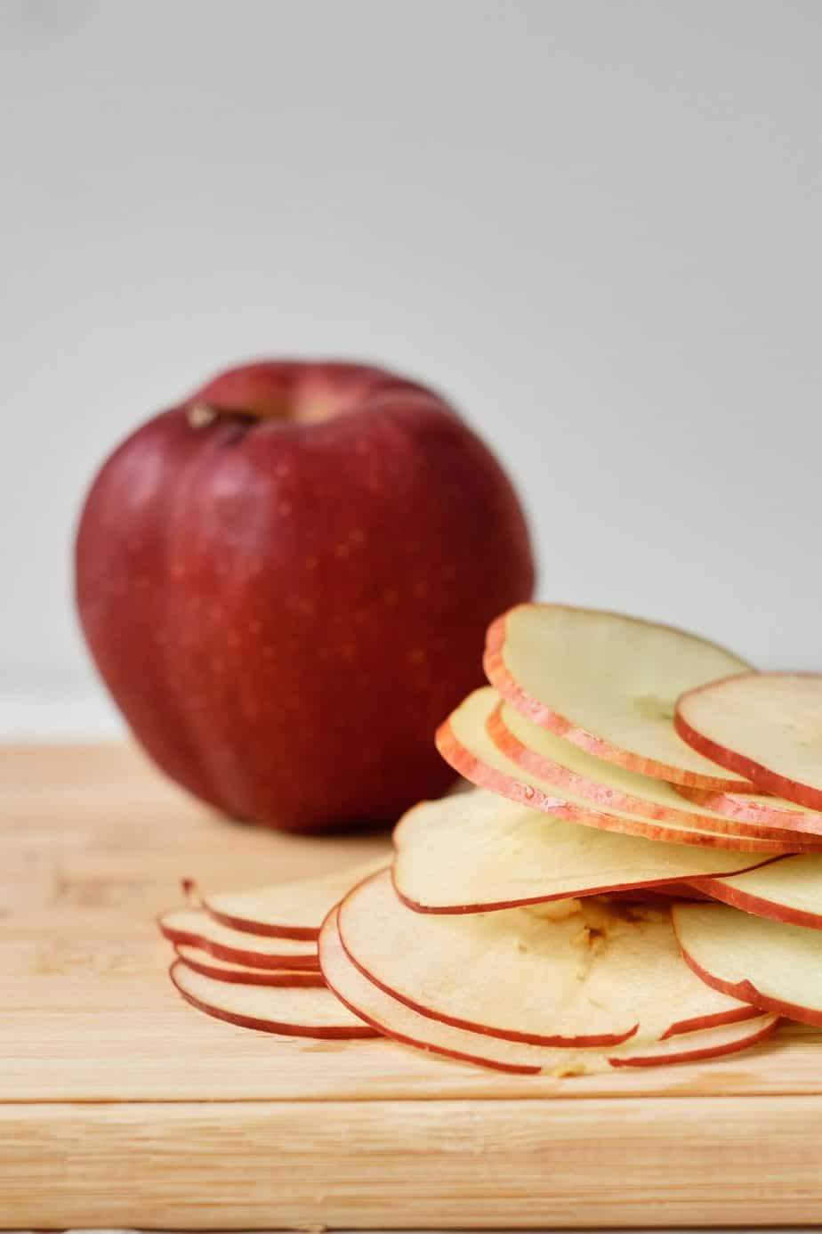 slice apple snack for kids