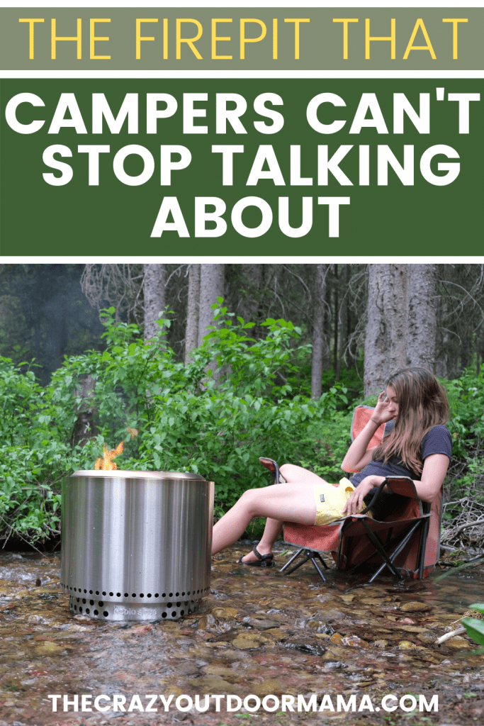 bonfire solo stove glamping review
