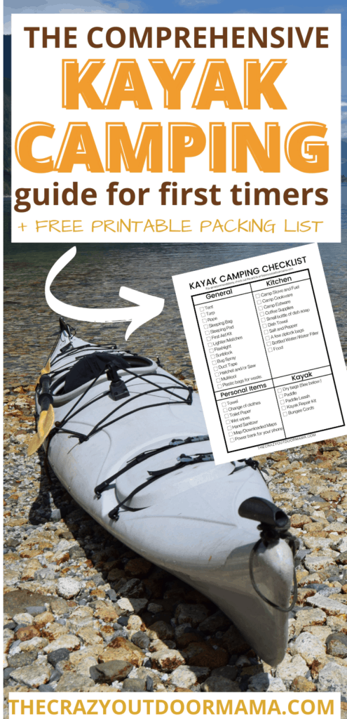 kayak camping free checklist what you need