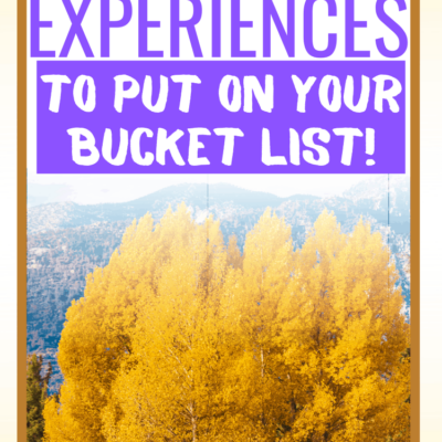 BUCKET LIST CAMPING TRIPS