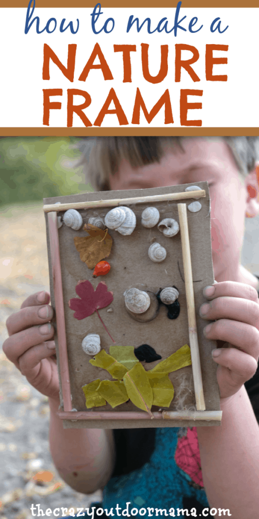 5 year old nature craft for forest school