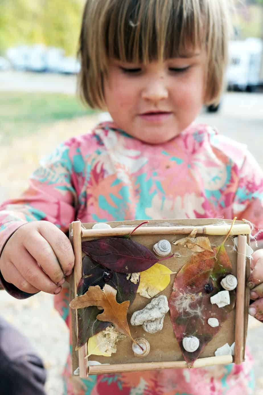 2 year old fall nature crafts for nature walk forest school cheap